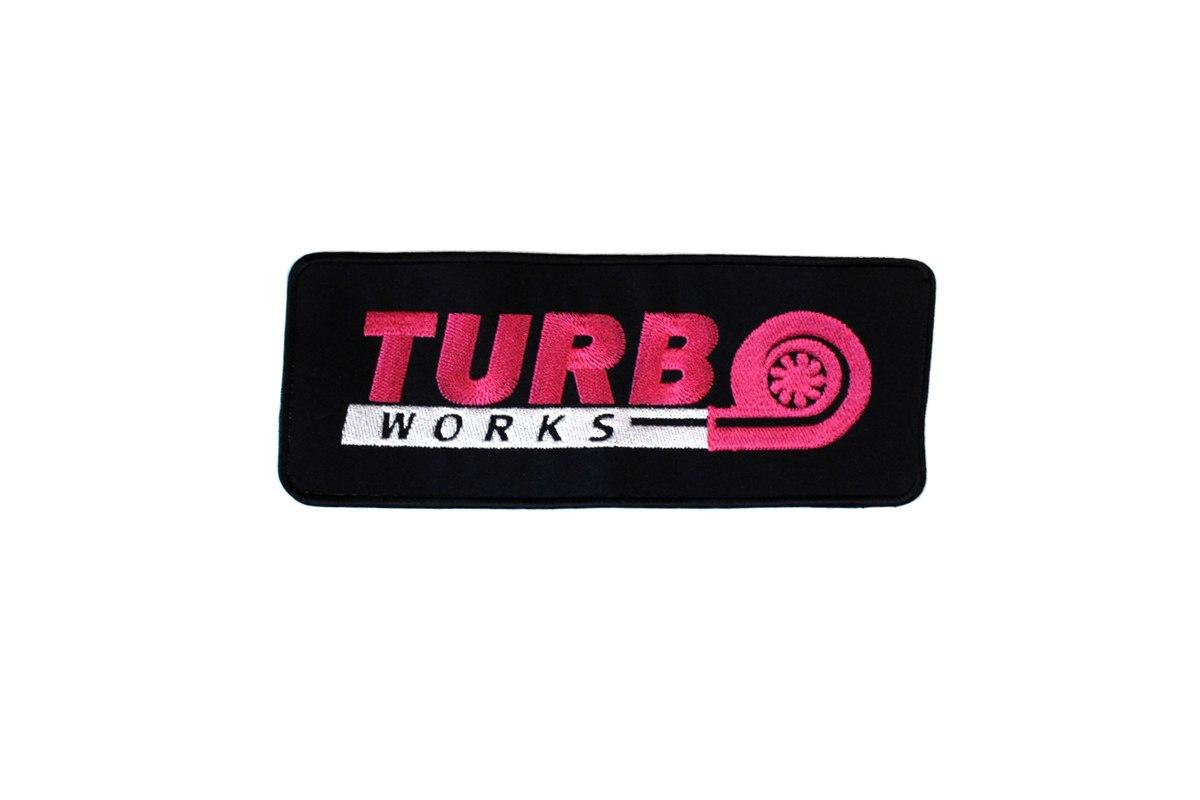 Naszywka TurboWorks 24 x 9cm - GRUBYGARAGE - Sklep Tuningowy